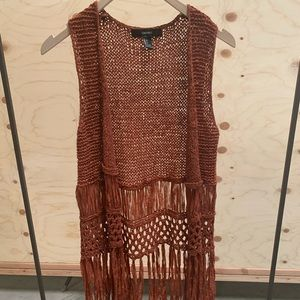 Boho Crocheted Vest